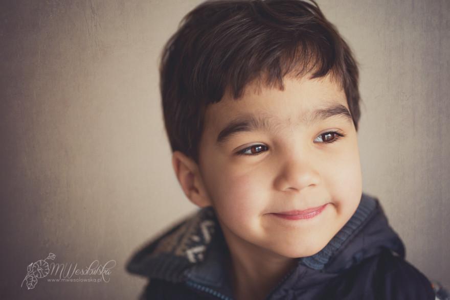 Efekt mgiełki w portrecie dziecięcym