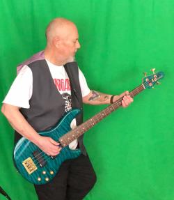 Garry playing Bass