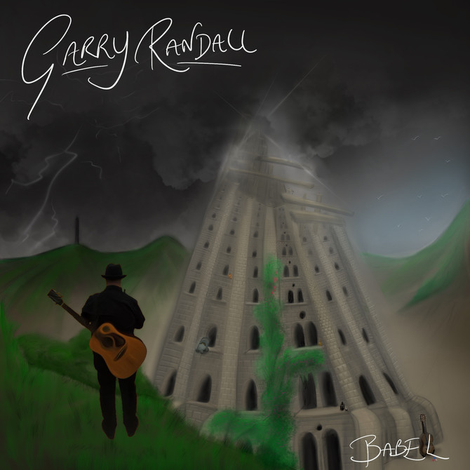 Garry Randall records 'Eye Of The Storm' Video.