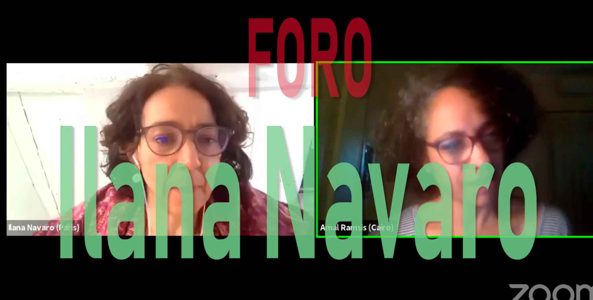 Foro con Ilana Navaro