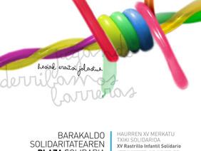 """20ª Feria Solidaria de Barakaldo """"La plaza solidaria"""""""