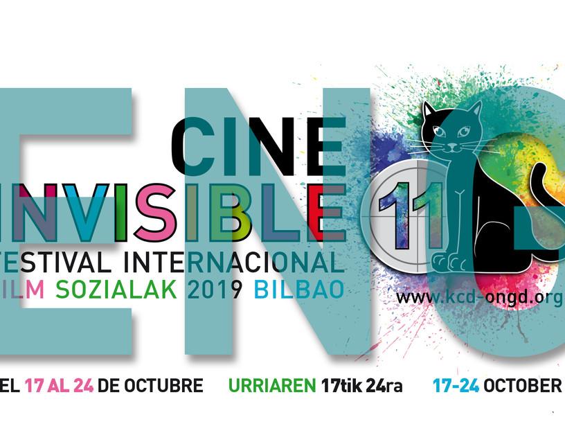 """PROMO - 11th INTERNATIONAL INVISIBLE FILM FESTIVAL """"FILM SOZIALAK"""" BILBAO 2019"""