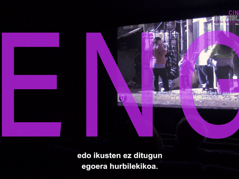"AFTERMOVIE - 8th INTERNATIONAL INVISIBLE FILM FESTIVAL ""FILM SOZIALAK"" BILBAO 2016"