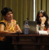 Clara Morales Rodriguez eta Mº Luisa Vázquez de Ágredos Pascual