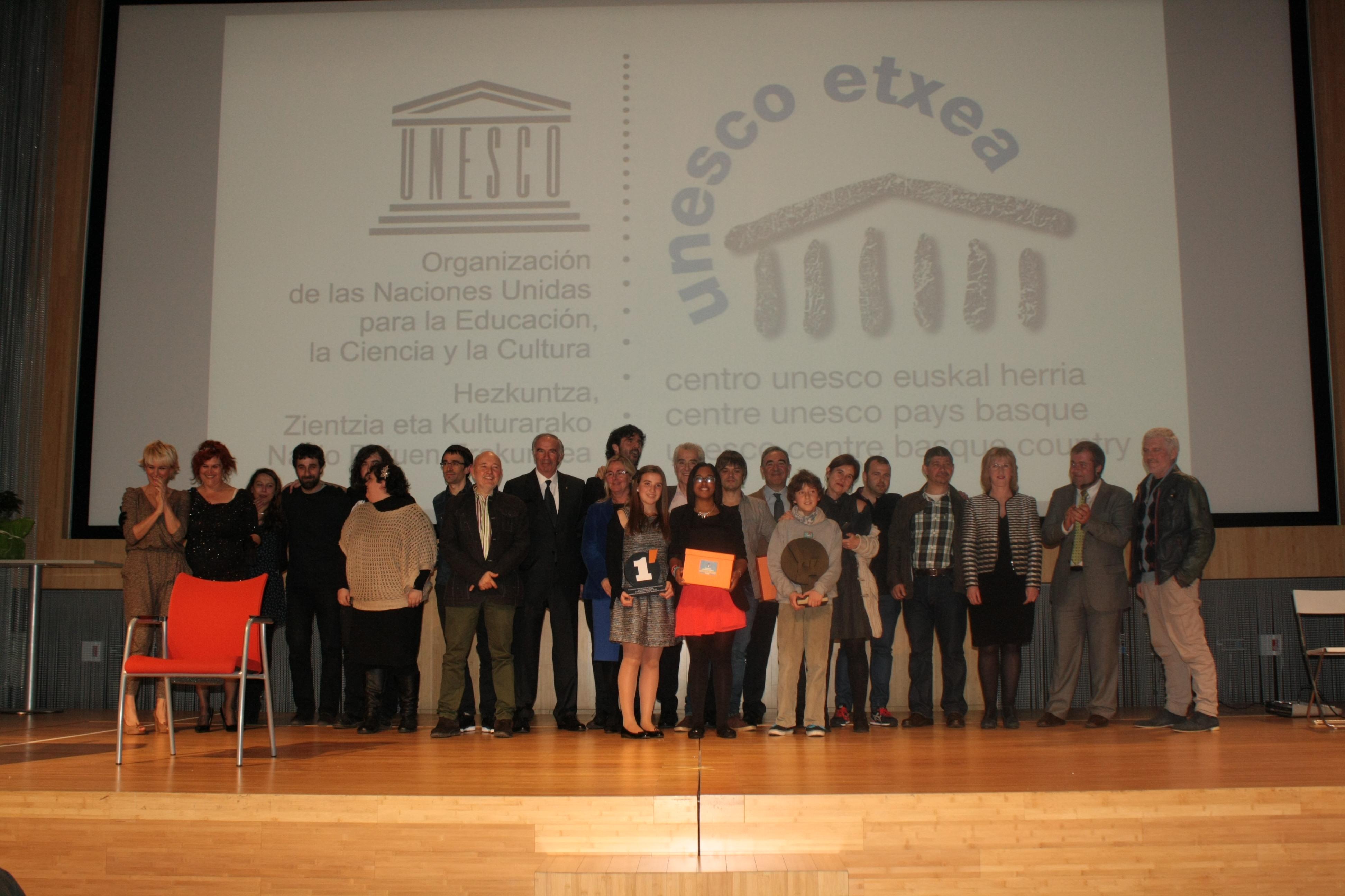 UNESCO ETXEA 2014