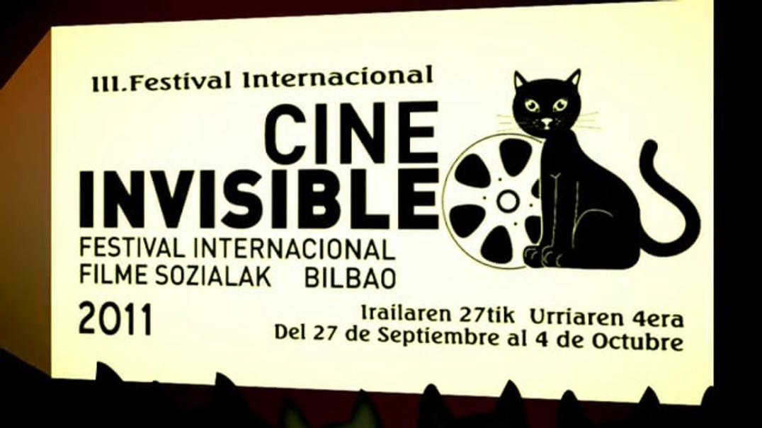 "PROMO - 3º FESTIVAL INTERNACIONAL DE CINE INVISIBLE ""FILM SOZIALAK"" BILBAO 2011"
