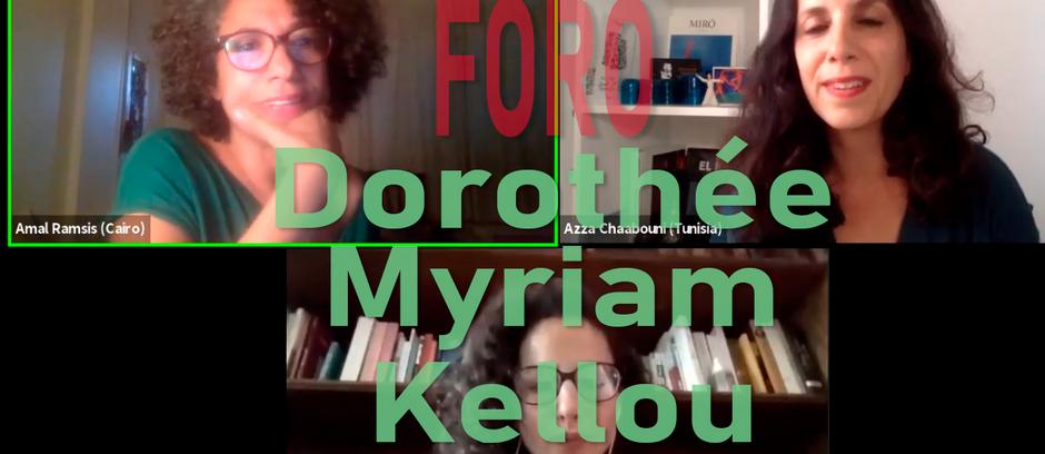 Foro con Dorothée Myriam Kellou