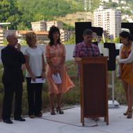 Carmelo Garitaonandia, Miren Gabantxo, Carmen Agoues, Ariagna Fajardo eta Juan Carlos Vazquez