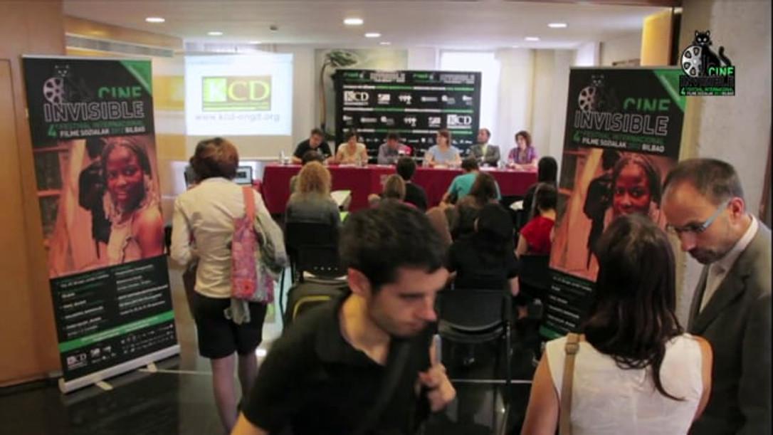 "AFTERMOVIE - 4º FESTIVAL INTERNACIONAL DE CINE INVISIBLE ""FILM SOZIALAK"" BILBAO 2012"