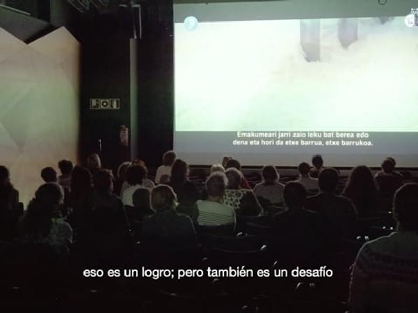 "AFTERMOVIE - 12º FESTIVAL INTERNACIONAL DE CINE INVISIBLE ""FILM SOZIALAK"" BILBAO 2020"