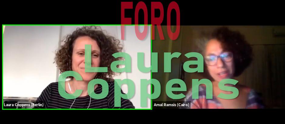 Foro con Laura Coppens
