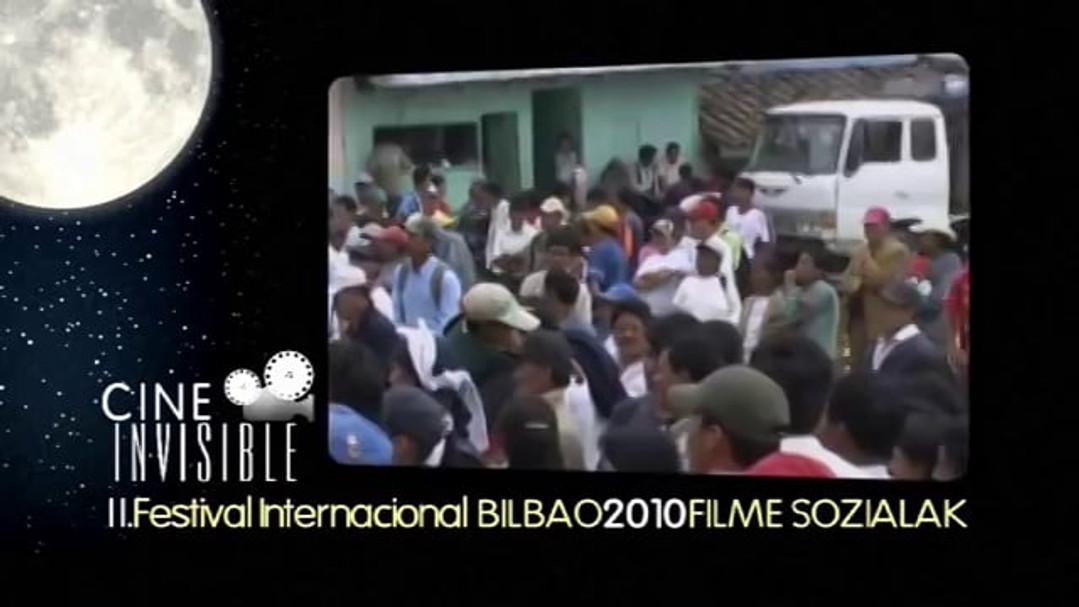 "PROMO - 2º FESTIVAL INTERNACIONAL DE CINE INVISIBLE ""FILM SOZIALAK"" BILBAO 2010"