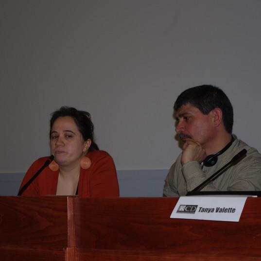 Carmen Alquegui eta Juan Carlos Vazquez
