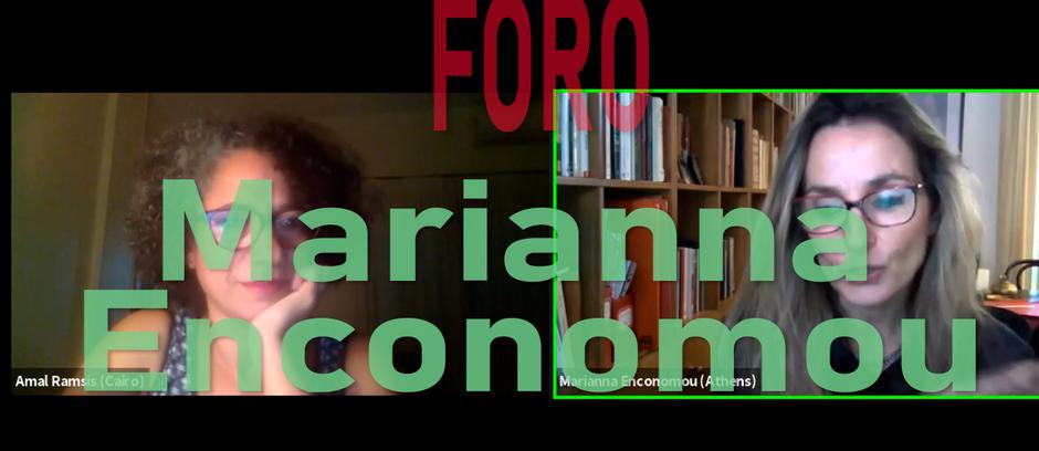 Foro con Marianna Economou