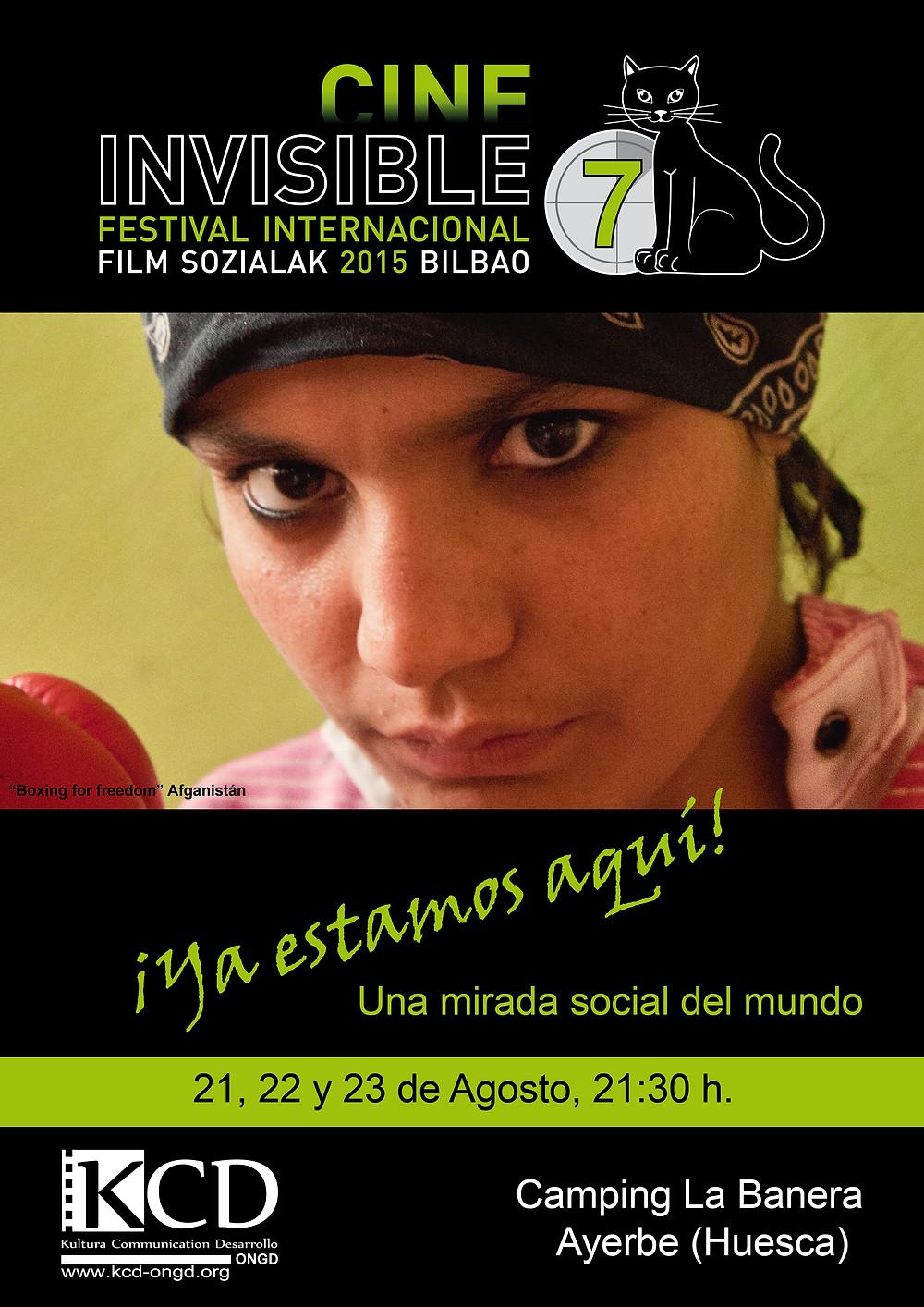 El camping La Banera de Ayerbe (Huesca) recibirá en agosto una muestra previa del festival de cine social de Bilbao.