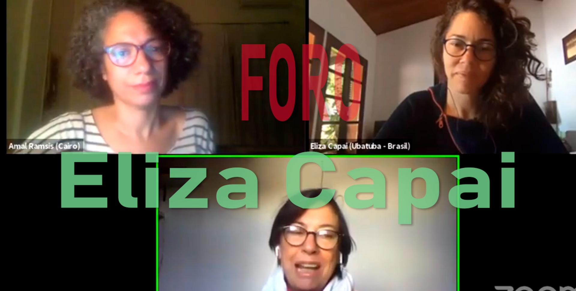 Foro con Eliza Capai