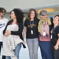 Wafa Jamil, Greta Frankenfeld, Paula Heredia eta Leire Pascual