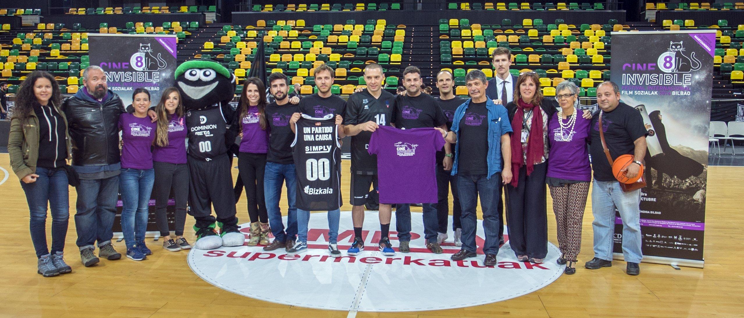 El Cine Invisible en el Bilbao Arena