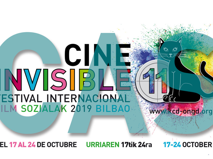 "PROMO - 11º FESTIVAL INTERNACIONAL DE CINE INVISIBLE ""FILM SOZIALAK"" BILBAO 2019"