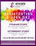 OPEN & REGISTRATION DAYS!