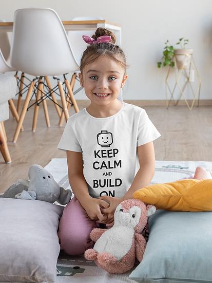 Keep Calm and Build On Tee (Youth)