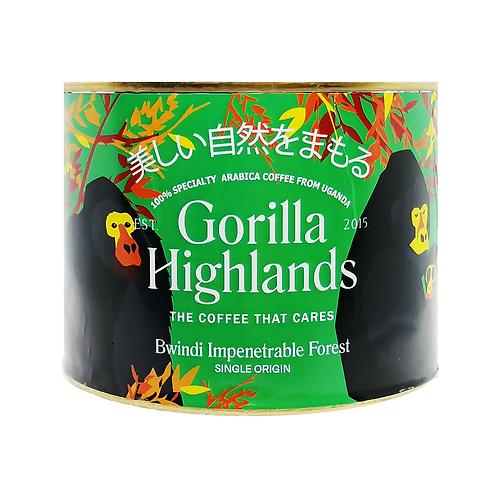ゴリラ・ハイランズ・コーヒー  Biwindi Forest 粉 100g