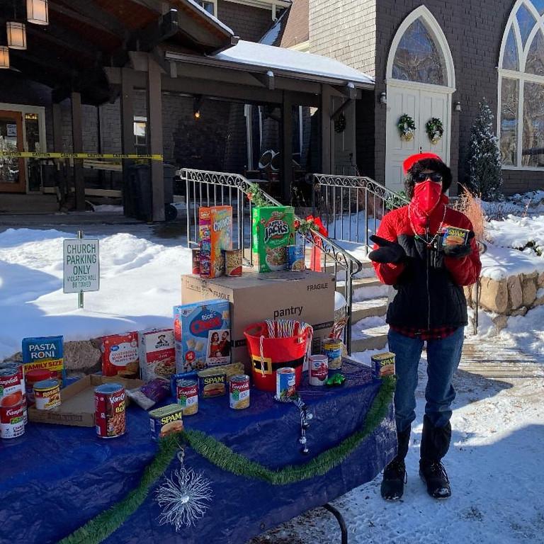 Wildwood Food Pantry - Snow predicted!
