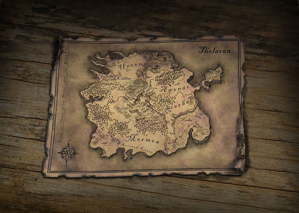 Landkarte Tholaran Yalims Erbe
