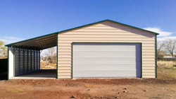 GARAGE AND LEAN TO
