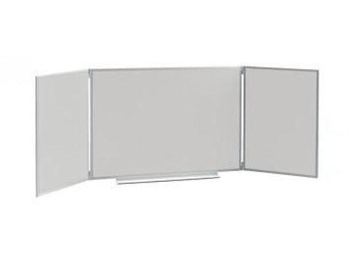 Доска классная 3-х элементная магнитная для маркера