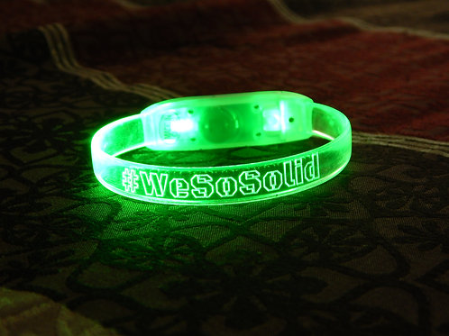 #WeSoSolid Wristband