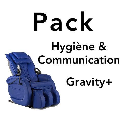 Pack hygiène et communication GRAVITY+