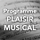 Thumbnail: Programme PLAISIR MUSICAL