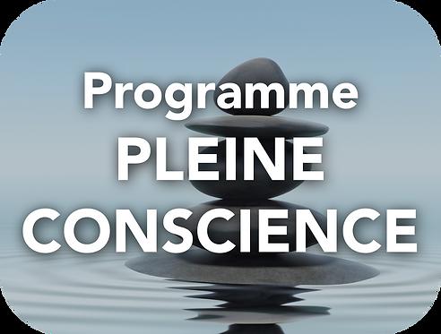 Programme PLEINE CONSCIENCE