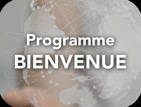 Programme BIENVENUE