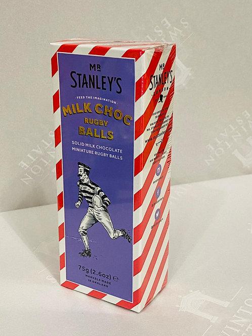 Mr Stanley's MilkChoc Rugby Balls
