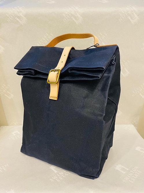 Kimmeridge Folding Lunch Bag Ink-Wax Canvas