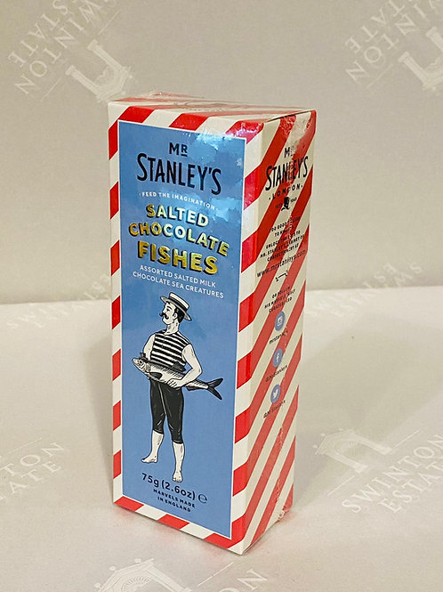 Mr Stanley's Salted Chocolate Fishes
