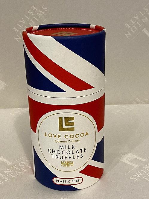 Love Cocoa British Milk Chocolate Truffles