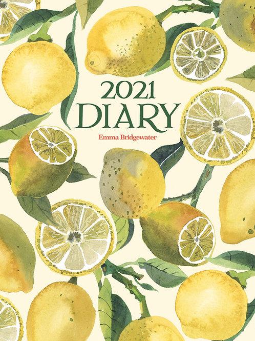 Emma Bridgewater 2021 Diary (Lemons A5 Deluxe)