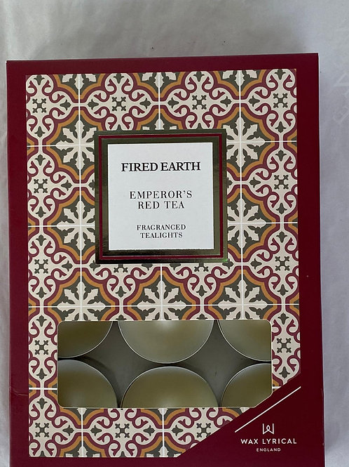 Fragranced Tealights by Fired Earth