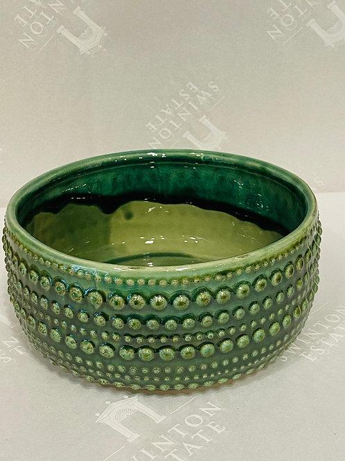 Castello Bowl in Foliage Green Medium