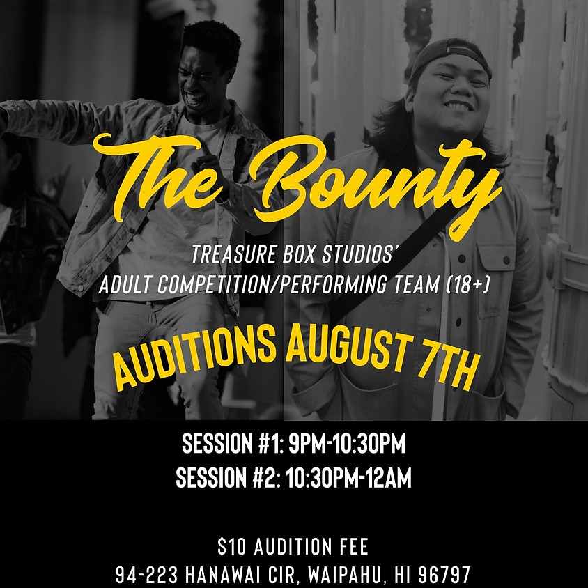 The Bounty Auditions Session 2
