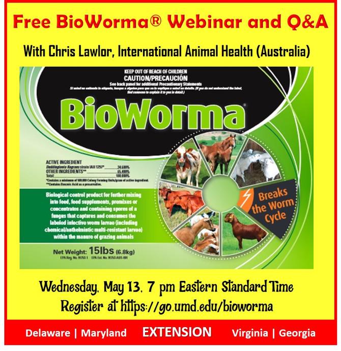 Free BioWorma® Webinar