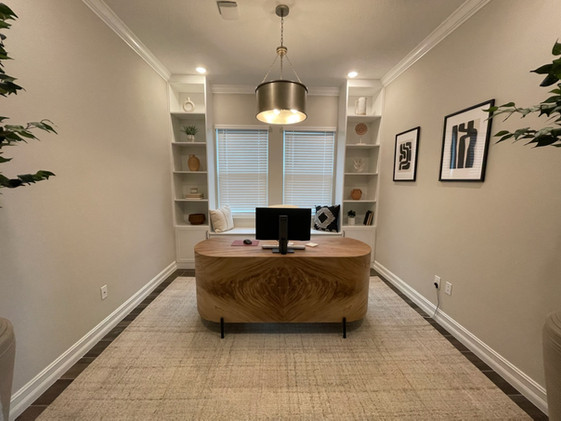 Office, Bench, and File Cabinets