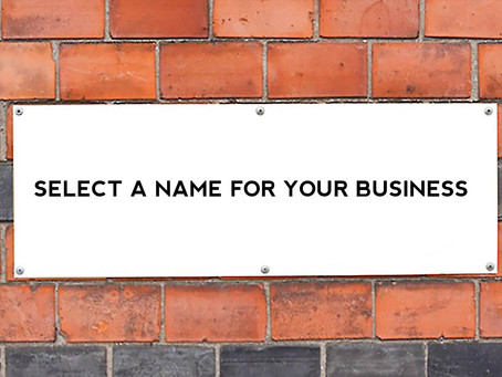 Points To Recognize Before You Select A Name For Your Business