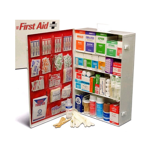 Large Industrial First Aid Kit w/Liner
