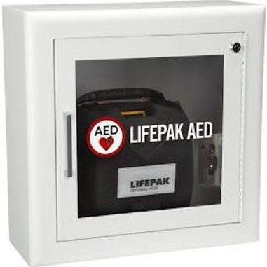 Wall Cabinet with Alarm and 3D Sign