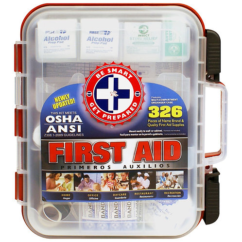 OSHA/ANSI Approved Small First Aid Kit