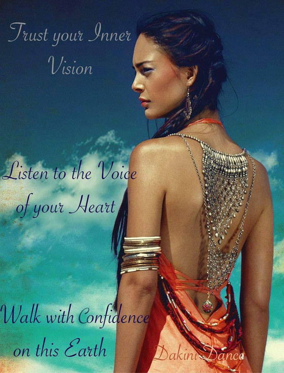 Walk with confidence on this Earth